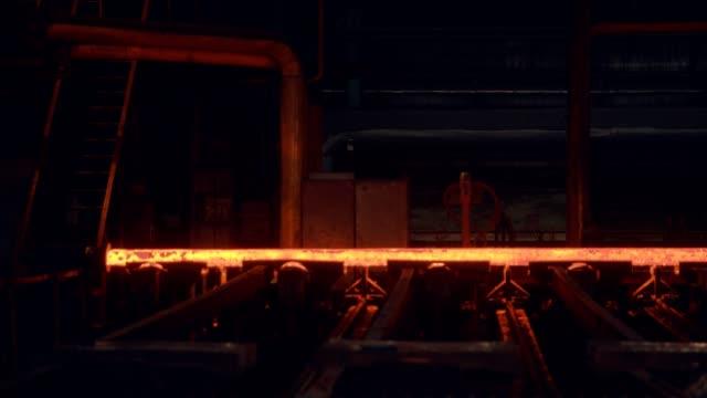 steel mill - rolling mill - steel mill stock videos & royalty-free footage