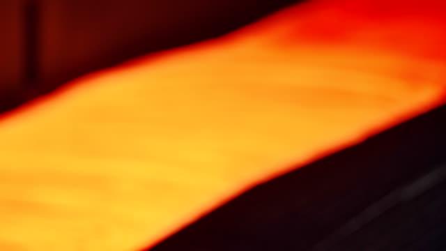 vídeos y material grabado en eventos de stock de molino de acero - alambre de acero - fundición de acero