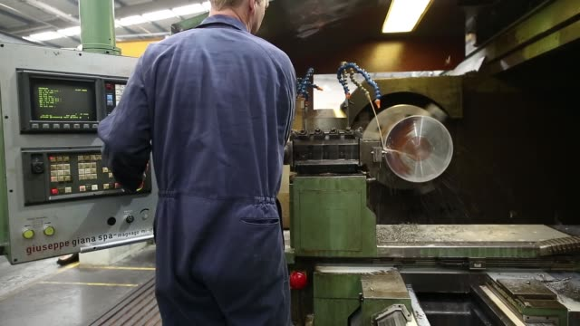 steel pistons sit in a pile during the manufacture of drill heads at the bulroc uk ltd production plant in chesterfield uk on thursday oct 10 drill... - piston stock videos & royalty-free footage