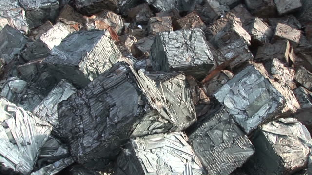 ms zi steel scrap at scrapyard / bous, saarland, germany - junkyard stock videos and b-roll footage