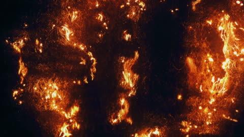 vídeos y material grabado en eventos de stock de quema de lana de acero - cordel