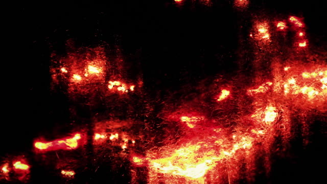 Stahlwolle brennen