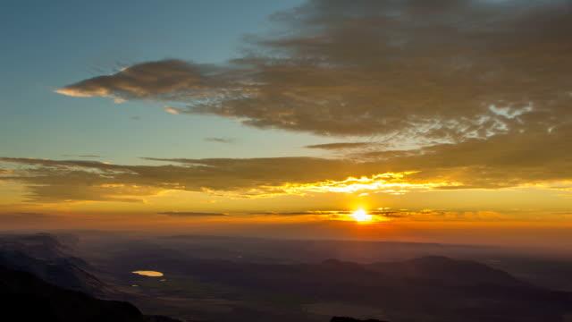 Steens Mountain Summit Sunrise