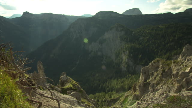 Steiermark - Mountain range in Tragoss