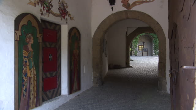 steiermark - old house in kapfenberg - traditionally austrian stock videos & royalty-free footage