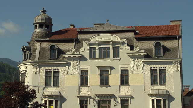 steiermark - town hall in bruck an der mur - town hall government building stock videos & royalty-free footage