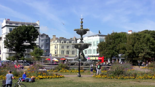 steine gardens - brighton, england - sussex stock videos and b-roll footage