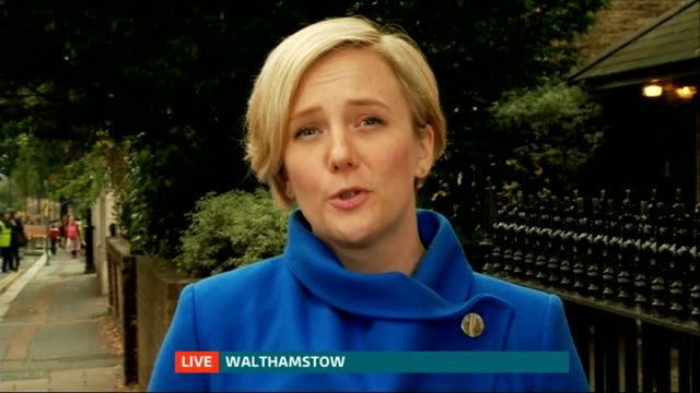 Stella Creasy interview on sentence of offensive tweeter ENGLAND London GIR / Walthamstow WAY interview with Stella Creasy MP interview SOT welcome...