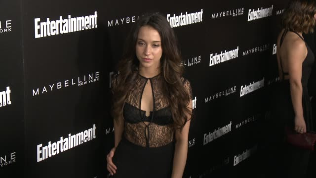 stella maeve at 2016 entertainment weekly screen actors guild party at chateau marmont on january 29 2016 in los angeles california - entertainment weekly stock-videos und b-roll-filmmaterial