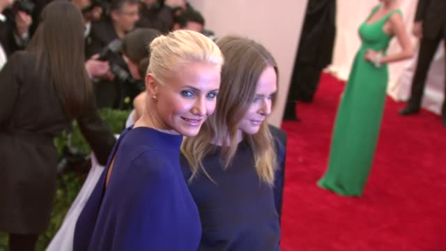 Stella McCartney and Cameron Diaz PUNK Chaos To Couture Costume Institute Gala at Metropolitan Museum of Art on May 06 2013 in New York New York
