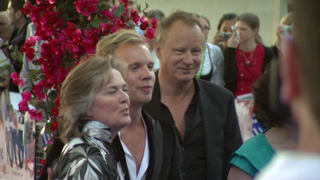 Stellan Skarsgard at the Mamma Mia Premiere at London