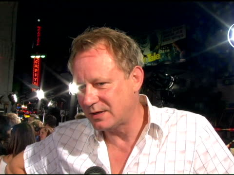 Stellan Skarsgard at the 'The Exorcist The Beginning' World Premiere Red Carpet at Grauman's Chinese Theatre in Hollywood California on August 18 2004