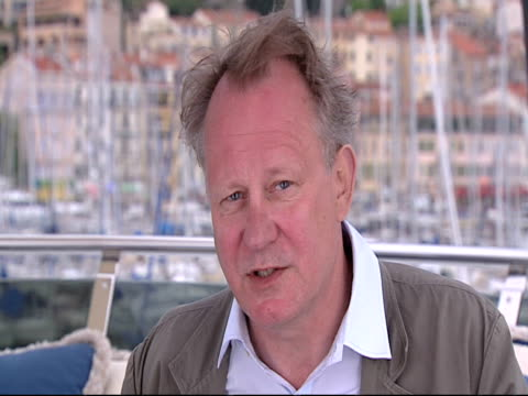 Stellan Skarsgard on being attracted to the film at the Moomins Interviews Cannes 2010 Film Festival at Cannes