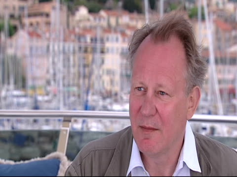 Stellan Skarsgard on being in Cannes for the film at the Moomins Interviews Cannes 2010 Film Festival at Cannes