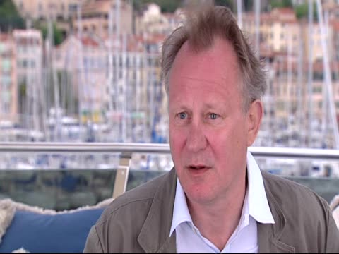 Stellan Skarsgard on capturing the quality of the original at the Moomins Interviews Cannes 2010 Film Festival at Cannes