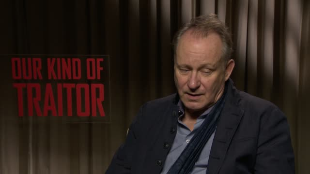 INTERVIEW Stellan Skarsgard on his character at 'Our Kind of Traitor' Interviews on April 06 2016 in London England
