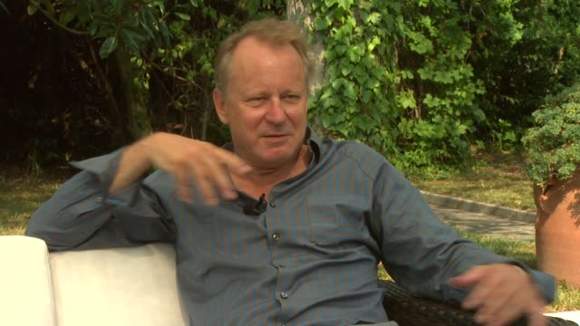 Stellan Skarsgard on how he came to be involved in the movie at the Metropia Interviews Venice Film Festival 2009 at Venice