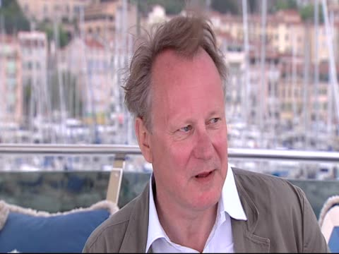 Stellan Skarsgard on the characters in the movie at the Moomins Interviews Cannes 2010 Film Festival at Cannes