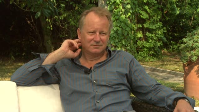 Stellan Skarsgard on the movie and the themes within it at the Metropia Interviews Venice Film Festival 2009 at Venice