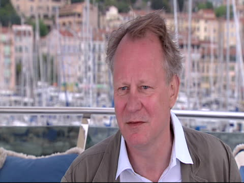 Stellan Skarsgard on the world in the stories at the Moomins Interviews Cannes 2010 Film Festival at Cannes