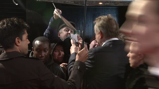 stellen skarsgard at the girl with the dragon tattoo world premiere at odeon leicester square on december 12 2011 in london england - the girl with the dragon tattoo stock videos and b-roll footage