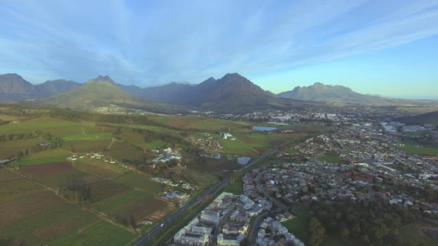 stellenbosch and it's beautiful surrounds - stellenbosch stock videos and b-roll footage