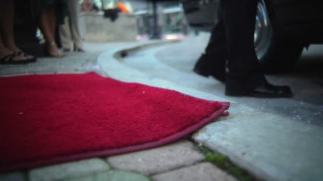 step onto red carpet - red carpet event stock videos & royalty-free footage