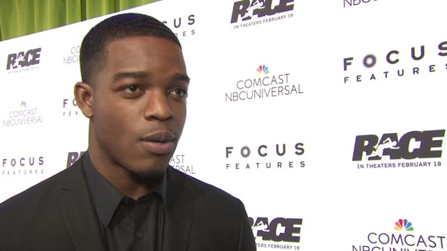 INTERVIEW Stephan James on learning about Jesse Owens the man how he trained to play Jesse which scenes were the most exciting to film and what he...