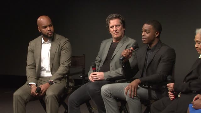 INTERVIEW Stephan James talks about how he prepared for his role as Jesse Owens and what he derived from it at Race Red Carpet Screening Presented By...
