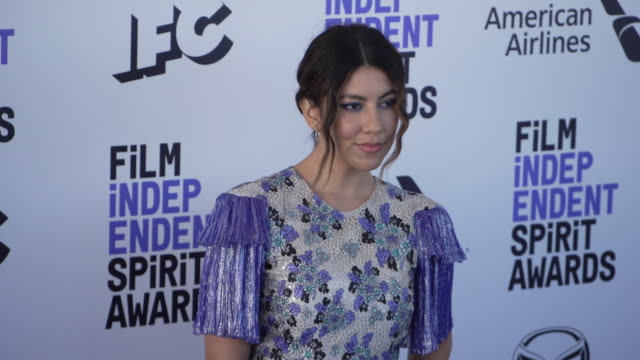 stephanie beatriz at the 2020 film independent spirit awards on february 08, 2020 in santa monica, california. - film independent spirit awards stock videos & royalty-free footage