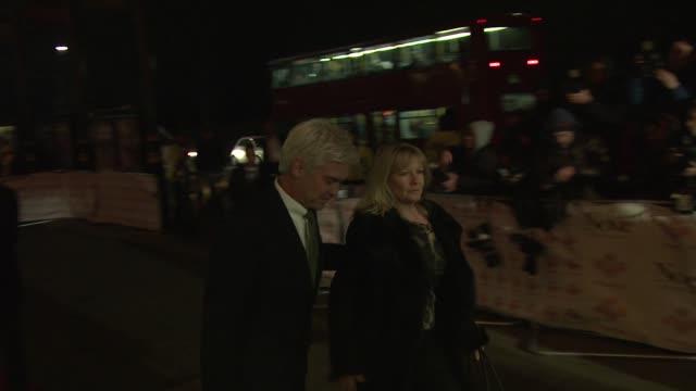 Stephanie Lowe Philip Schofield at Royal Albert Hall on November 28 2012 in London England