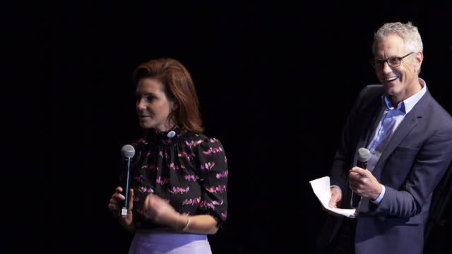 speech stephanie ruhle and john sykes on september 26 2019 in brooklyn new york - stephanie ruhle stock videos & royalty-free footage