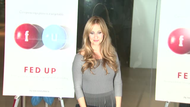 Stephanie Soechtig at the Fed Up Los Angeles Premiere at Pacific Design Center on May 08 2014 in West Hollywood California