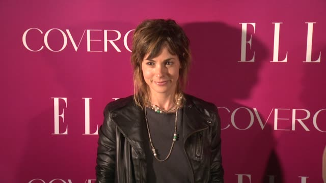 stephanie szostak at 4th annual elle women in music celebration arrivals at the edison ballroom on april 10 2013 in new york new york - edison ballroom stock videos & royalty-free footage