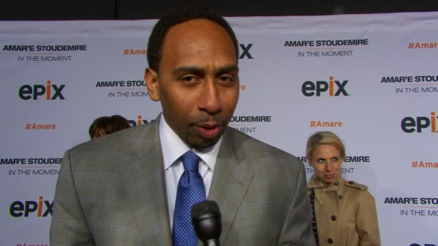 INTERVIEW Stephen A Smith shares his favorite Knicks memory what lessons there are in this documentary on mother's day on the recent Boston tragedy...