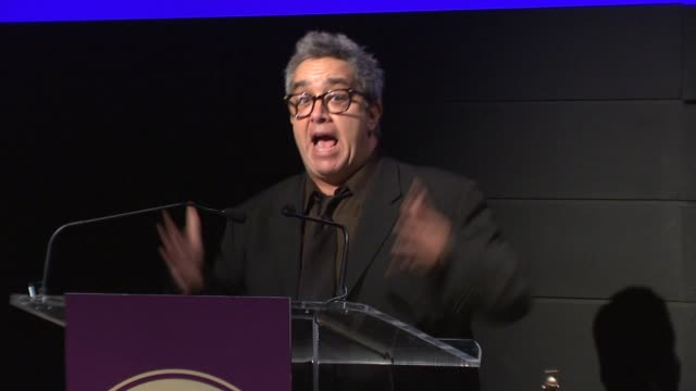 stephen adly guirgis at harold and mimi steinberg charitable trust hosts 2014 steinberg playwright awards at lincoln center theater on november 17... - scriptwriter stock videos and b-roll footage