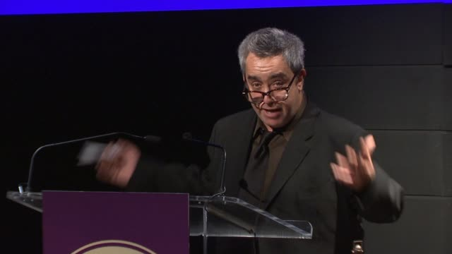 stephen adly guirgis at harold and mimi steinberg charitable trust hosts 2014 steinberg playwright awards at lincoln center theater on november 17,... - scriptwriter stock videos & royalty-free footage