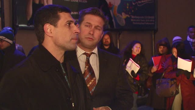 stephen baldwin and guest speaker at the celebration of the birth of jesus by stephen baldwin at times square nativity at parking lot on 46th b/w 8th... - stephen baldwin stock-videos und b-roll-filmmaterial