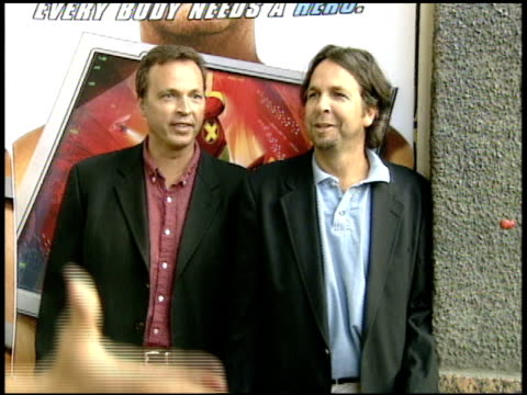 stephen baldwin and kevin pollak talk about acting with animals and kevin spacey . - stephen baldwin stock-videos und b-roll-filmmaterial