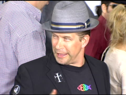 stephen baldwin at the 'lords of dogtown' world premiere on may 24, 2005. - stephen baldwin stock-videos und b-roll-filmmaterial
