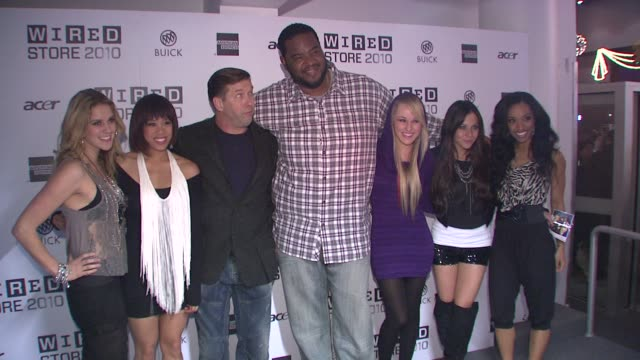 stephen baldwin, grizz chapman and members of bg5 at the wired celebrates the 2010 wired store experiential gallery opening in noho at new york ny. - stephen baldwin stock-videos und b-roll-filmmaterial