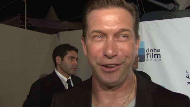 stephen baldwin on big brother and new projects he has in the works at the doha film institute launch: cannes film festival 2010 at cannes . - stephen baldwin stock-videos und b-roll-filmmaterial