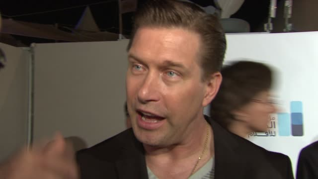 stephen baldwin on the iphone as a filmmaking tool at the doha film institute launch: cannes film festival 2010 at cannes . - stephen baldwin stock-videos und b-roll-filmmaterial