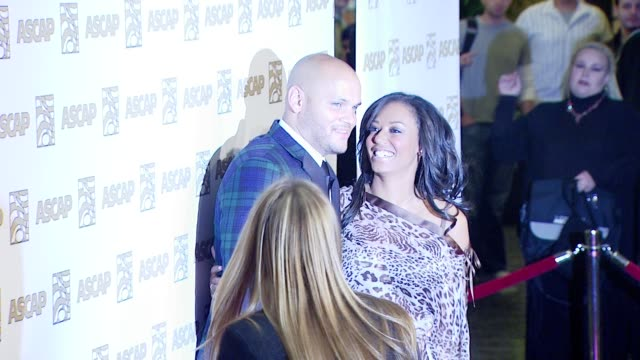 vidéos et rushes de stephen belafonte and melanie brown at the ascap's 25th annual pop music awards at the kodak theatre in hollywood, california on april 9, 2008. - ascap