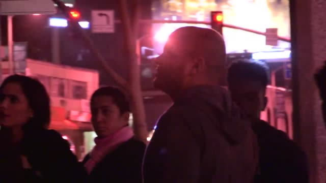 stephen belafonte enjoys a rocking club adventure at bootsy bellows la celebrity sightings in los angeles ca on 12/03/13 - dondolarsi video stock e b–roll