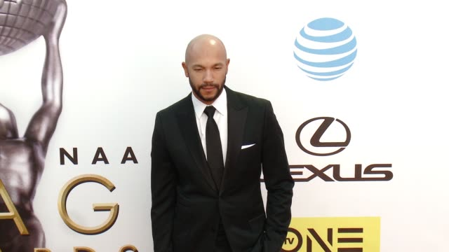 stephen bishop at 47th annual naacp image awards at pasadena civic auditorium on february 05 2016 in pasadena california - pasadena civic auditorium stock-videos und b-roll-filmmaterial