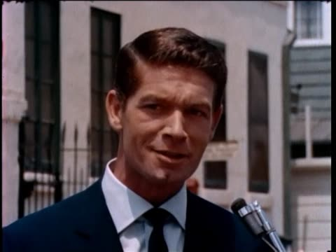 stephen boyd interview at paramount studios 1960s - paramount studios stock videos & royalty-free footage