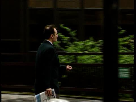 kenneth noye trial london gary clarke along pan - kenneth noye stock videos & royalty-free footage