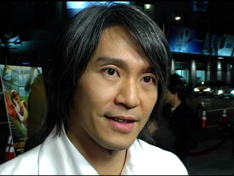 stephen chow at the 'kung fu hustle' los angeles premiere at arclight cinemas in hollywood california on march 29 2005 - arclight cinemas hollywood stock videos and b-roll footage