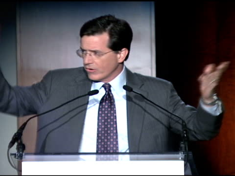 Stephen Colbert at the Food Bank For New York City's 25th Anniversary and 5th Annual CanDo Awards Dinner at Abigail Kirsch's Pier Sixty at Chelsea...